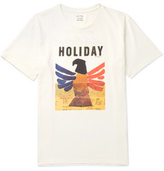 Holiday Boileau - Printed Cotton-Jersey T-Shirt