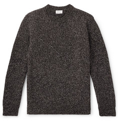 Brioni Mélange Wool Sweater
