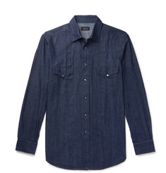 Brioni - Denim Shirt
