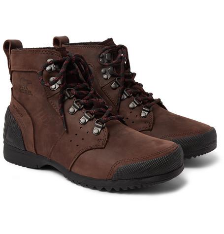 SOREL Ankeny Waterproof Leather Boots