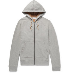 John Elliott Loopback Cotton-Jersey Zip-Up Hoodie