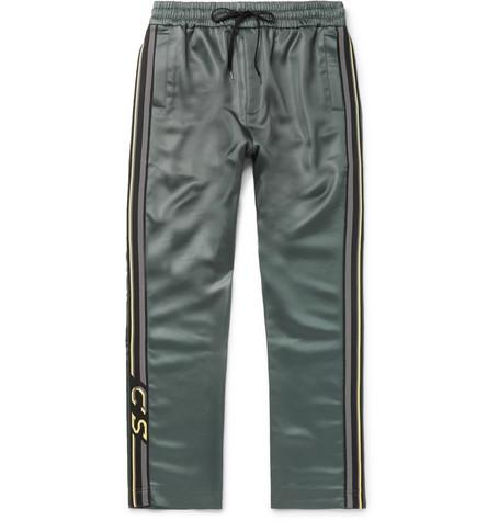 Buck Striped Satin Sweatpants by Cmmn Swdn
