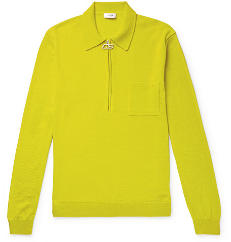 Curtis Merino Wool Half Zip Sweater by Cmmn Swdn