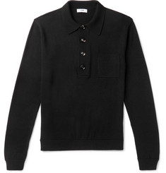 CMMN SWDN - Curtis Slim-Fit Wool Polo Shirt