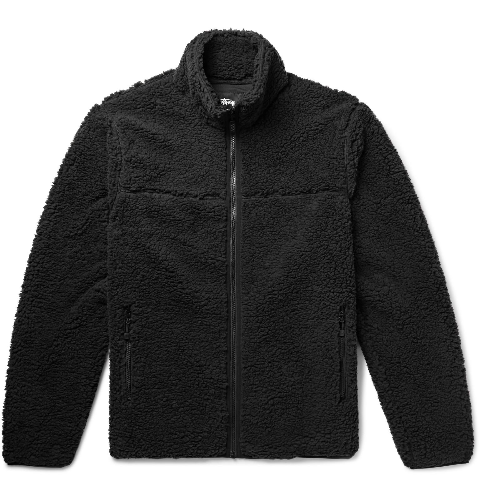 Stüssy Jacket Fleece Sherpa Stüssy Fleece Sherpa Sherpa Fleece Jacket Jacket Stüssy Sherpa Stüssy UTqCgZx