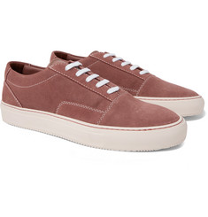 Common Projects - Cap-Toe Suede Sneakers