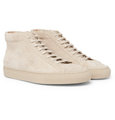 Common Projects Original Achilles Suede High-Top Sneakers