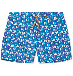 Thorsun Sol Slim-Fit Short-Length Printed Swim Shorts