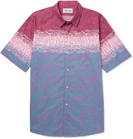 THORSUN Printed Cotton Shirt