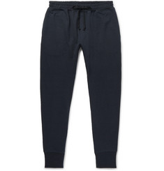 Secondskin Slim-Fit Tapered Loopback Supima Cotton-Jersey Sweatpants