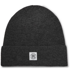 Reigning Champ Ribbed Wool Beanie