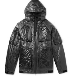 TAKAHIROMIYASHITA TheSoloist. Padded Nylon Hooded Jacket