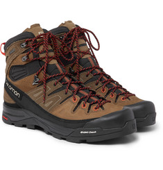 Salomon - X Alp High Nubuck and Gore-Tex Hiking Boots