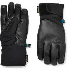 Salomon QST Leather and GORE-TEX Ski Gloves