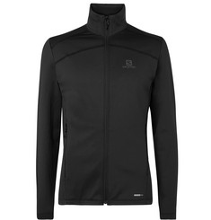Salomon - Discovery Fleece-Back Jersey Half-Zip Base Layer