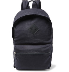 A.P.C. Sadie Leather-Trimmed Canvas Backpack