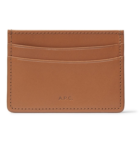 Andre Leather Cardholder by A.P.C.