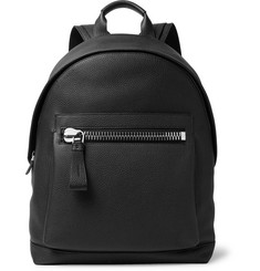 TOM FORD Buckley Pebble-Grain Leather Backpack