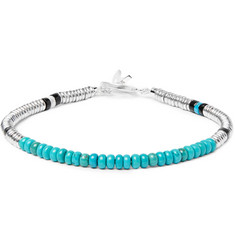 Mikia Silver-Plated Turquoise Bracelet