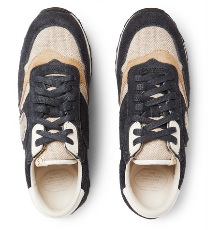 visvim - Roland Suede and Canvas Sneakers c1b99b038