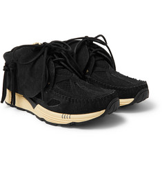 visvim FBT Prime Runner Suede and Mesh Sneakers