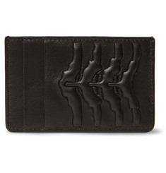Alexander McQueen Embossed Leather Cardholder