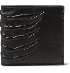 Alexander McQueen Embossed Leather Billfold Wallet