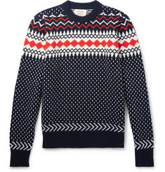 Holiday Boileau Fair Isle Virgin Wool Sweater