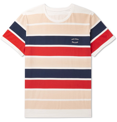 Striped Cotton Jersey T Shirt by Holiday Boileau