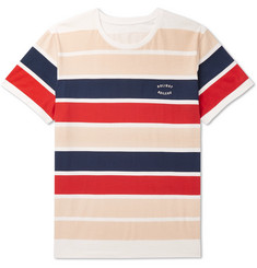Holiday Boileau - Striped Cotton-Jersey T-Shirt