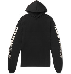 Fear of God Oversized Printed Cotton-Jersey Hoodie