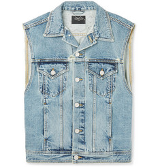 Fear of God Appliquéd Denim Gilet