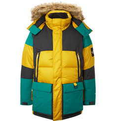 The North Face - Vostok Faux Fur-Trimmed Padded Ripstop Hooded Down Parka