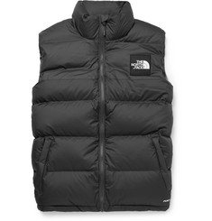 노스페이스 1992 눕시 조끼 The North Face 1992 Nuptse Slim-Fit Two-Tone Quilted Shell Down Gilet,Charcoal