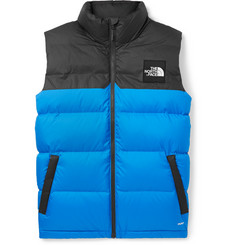 The North Face 1992 Nuptse Two-Tone Quilted Shell Down Gilet
