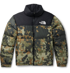The North Face 1996 Nuptse Camouflage-Print Quilted Ripstop Down Jacket