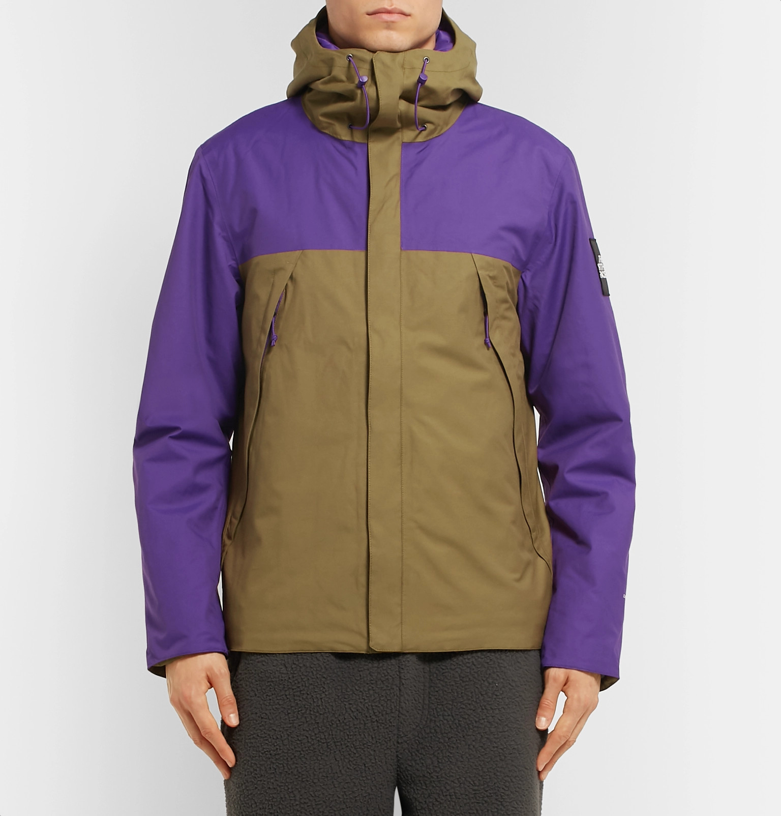 edfff19add The North Face - 1990 Thermoball Mountain Cotton-Blend Twill Hooded ...
