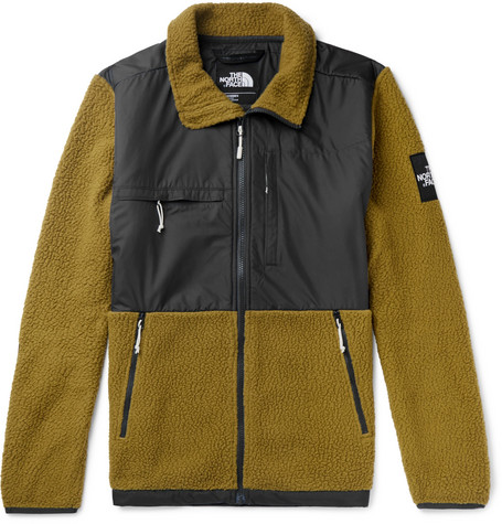 Denali Panelled Fleece And Shell Jacket by The North Face