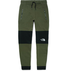 The North Face - Himalayan Slim-Fit Colour-Block Fleece-Back Cotton-Jersey Sweatpants