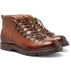 Officine Creative - Burnished-Leather Boots