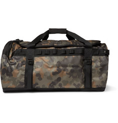 The North Face Base Camp Camouflage-Print Coated-Canvas Holdall