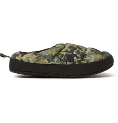The North Face Camouflage-Print Quilted Ripstop PrimaLoft Slippers