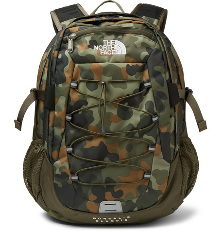 2330ed8d2a The North Face - Borealis Camouflage-Print Canvas Backpack