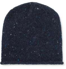 Inis Meáin Donegal Merino Wool and Cashmere-Blend Beanie