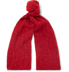 Inis Meáin Donegal Merino Wool and Cashmere-Blend Scarf