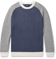 Howlin' Megatron Man Colour-Block Wool Sweater