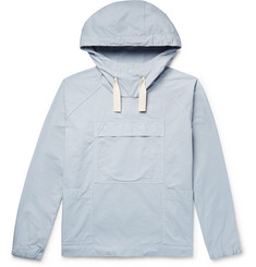 Albam Sailing Smock Cotton-Twill Hooded Jacket