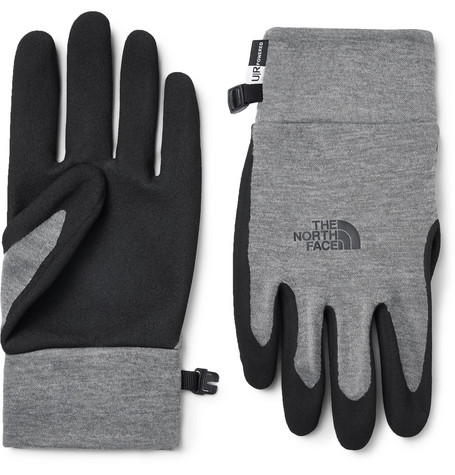 The North Face Etip Grip and Tech-Fleece Gloves