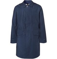 Urban Gore-tex And Nylon Coat - Blue