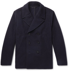 Mr P.-Double-Breasted Virgin Wool and Cashmere-Blend Bouclé Peacoat